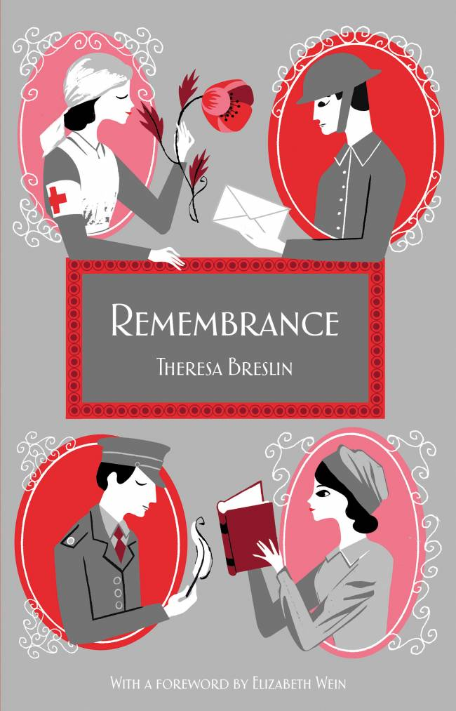 Remembrance by Theresa Breslin - Imperial War Museum Edition - Front Cover