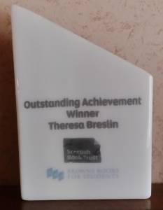 Outstanding Achievement Award Theresa Breslin