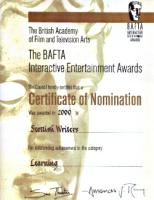 Bafta Certificate image